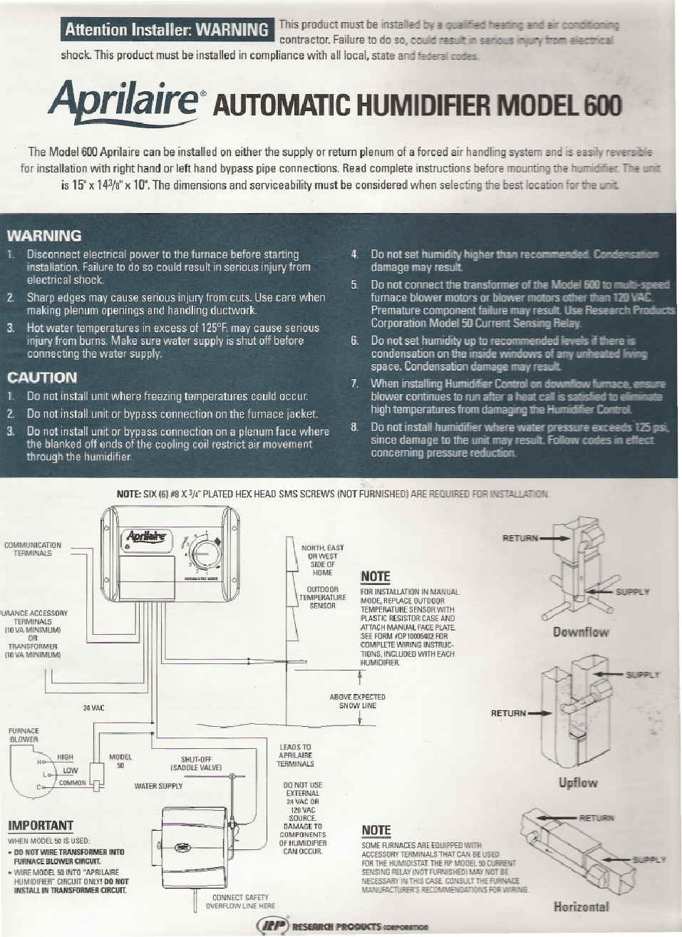 York Economizer Wiring Diagram 30 Images Furnace Schematic Full Humidifier Education Aprilaire Template At