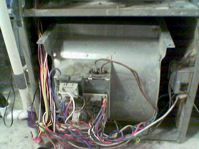 furnace motor installation photos