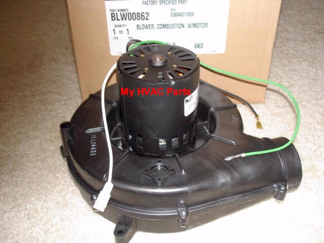 blw01137 trane furnace draft inducer