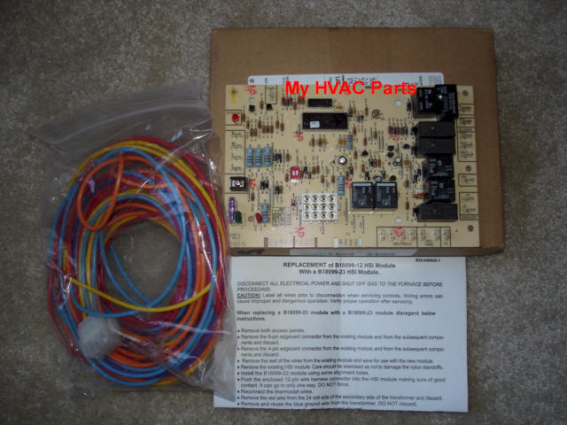 goodma1 instr goodman control board b18099 23 instructions Basic Electrical Wiring Diagrams at cos-gaming.co
