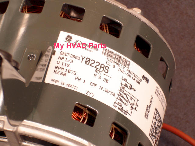 0131F00020 Goodman 1 3 H P Furnace Motor S89 807