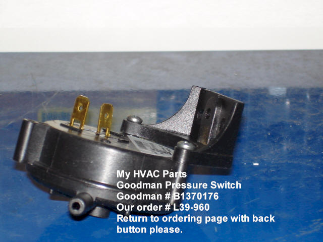 Trane XE 90 pressure switch - DIY Home Improvement, Remodeling