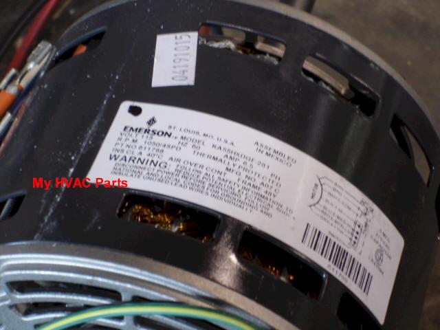 611798 1 3 h p icp furnace blower motor