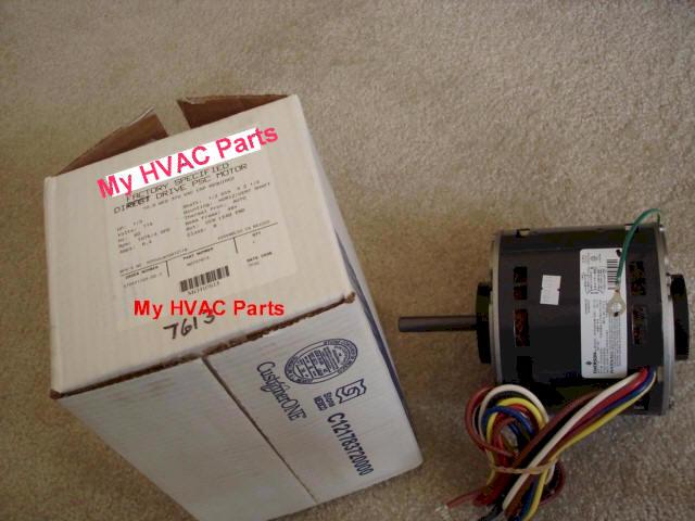 Mot07613 trane 1 3 hp furnace motor for Trane xe90 blower motor