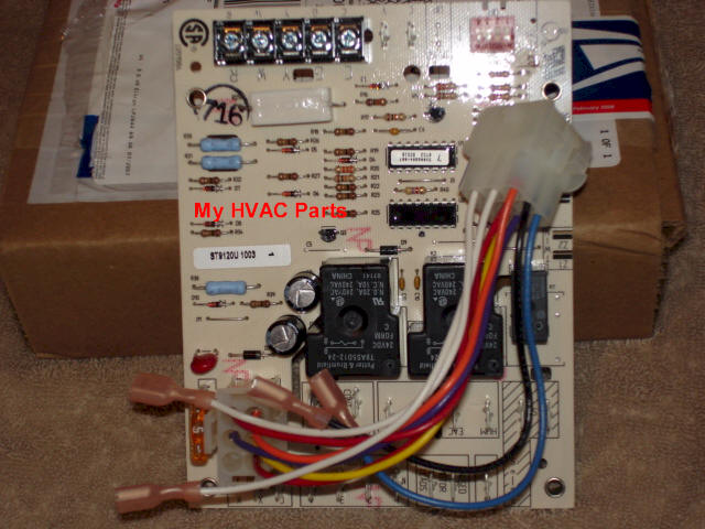 lennox furnace control board. click for larger image · lennox furnace control board