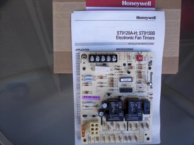 Honeywell Smart Valve Fan Timer Universal Control Board