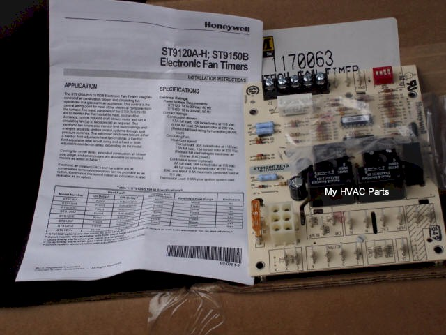 tempstar board 1170063 1170063 furnace fan timer honeywell st9120c4057 wiring diagram at gsmportal.co