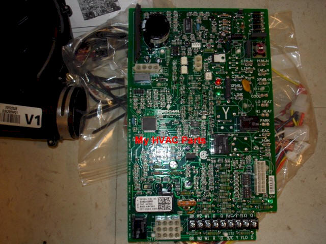 trane cnt04985 variable speed control board large variable speed 92% furnace draft inducer for trane and american Furnace Wiring Diagram Older Furnace at soozxer.org