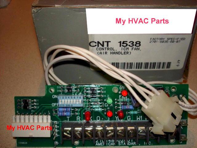 cnt01538 trane twe air handler control board